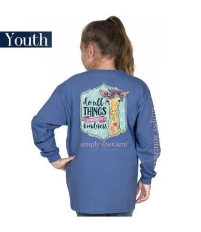 Simply Southern Simply Southrern L/S Kind Shirt Moonrise