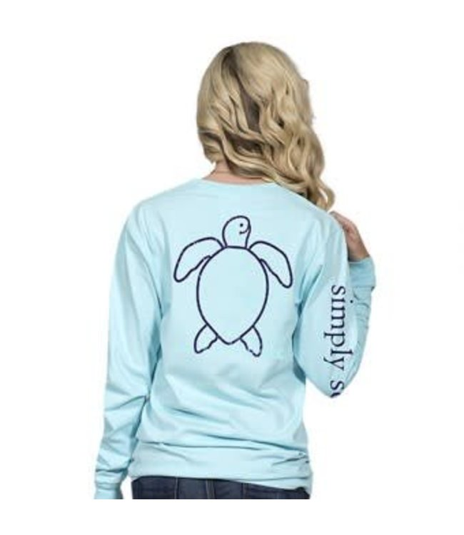 Simply Southern Simply Southern L/S Save Logo Shirt Marine