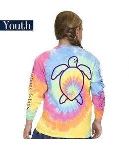 Simply Southern Simply Southern L/S Save Logo Shirt Tie Dye