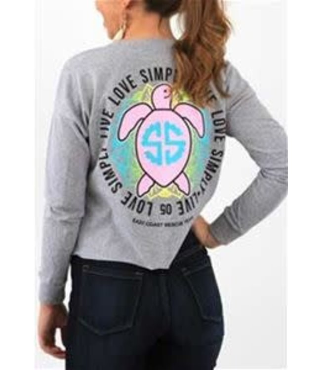Simply Southern Simply Southern Shortie Turtle Grey