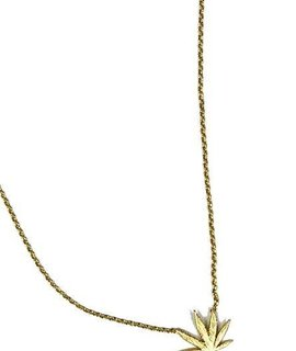 Delicate Mary Jane Charm Necklace