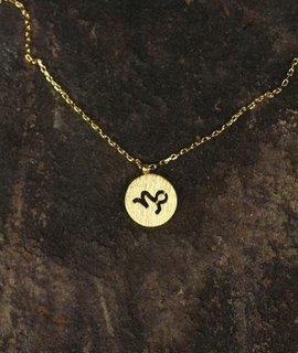 Capricorn Charm Necklace