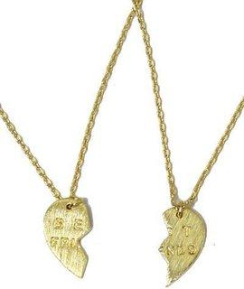 Best Friends Delicate Charm Necklace Set