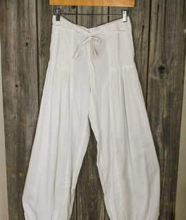 Cotton Genie Pant w/Ankle Ties