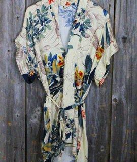 Asian Inspired Print Kimono