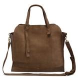 Jo Jo Jane Shoulder Bag: Taupe