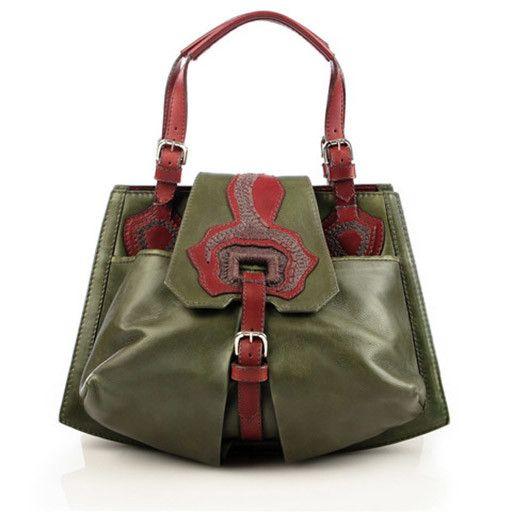 Anya Sushko Anya Sushko Bowgard Handbag: Green