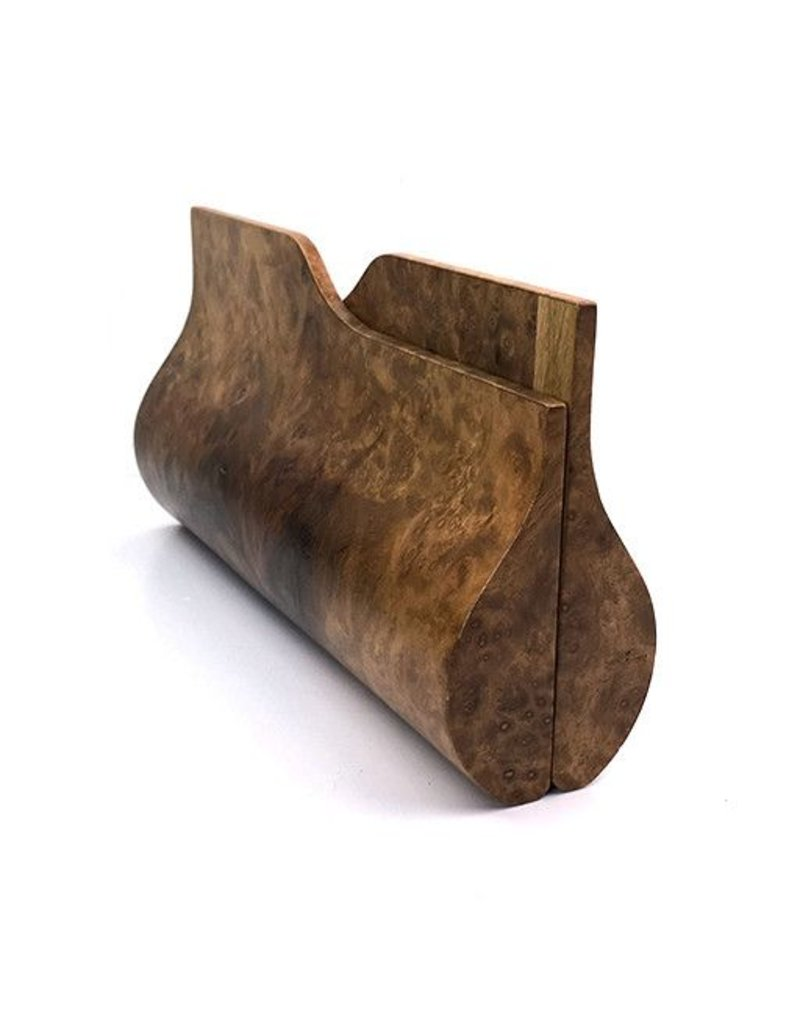 BowensBergeron BowensBergeron Sophisticate Burl Wood Clutch