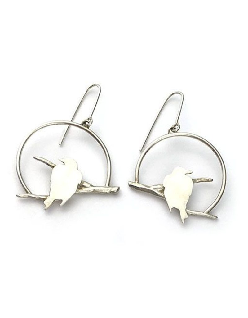 Susan Elnora Susan Elnora Earrings: Ravens