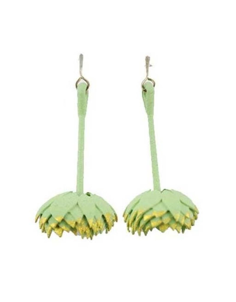 Rachel Timmins Rachel Timmins Flower Dangles: Seafoam