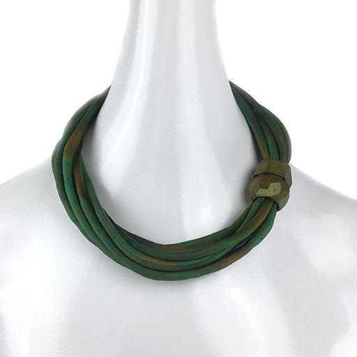"""Susan Sanders Susan Sanders Silkworm 20"""": Earthy Greens"""