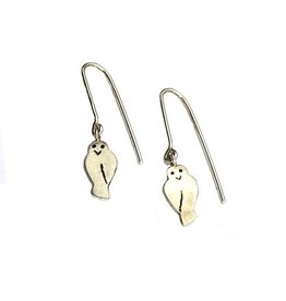 Susan Elnora Susan Elnora Earrings: Tiny Owls
