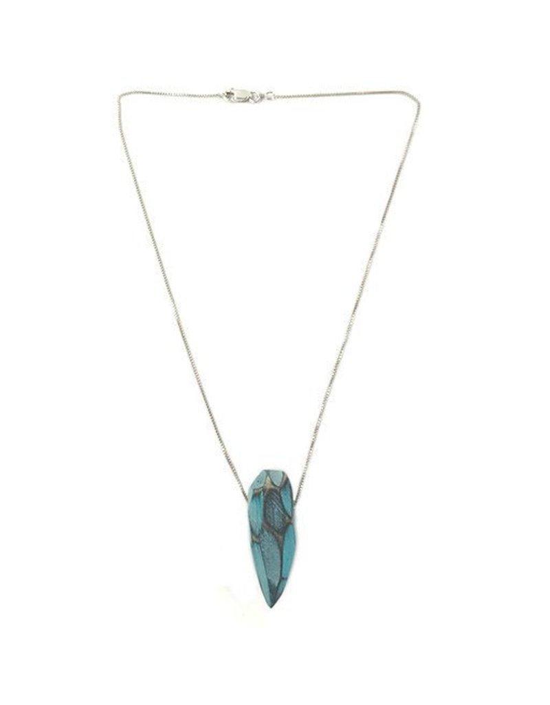 Morgan Hill Morgan Hill Pendant Necklace: Aqua