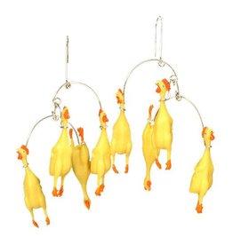 Hsu Studios Hsu Studios Chicken Dangles