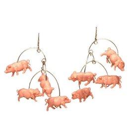 Hsu Studios Hsu Studios Pig Dangles