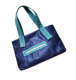 Lola Falk Lola Falk Grayson Travel Bag: Royal Blue