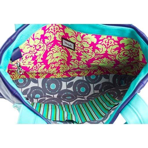 Lola Falk Lola Falk Grayson Travel Bag: Royal Blue