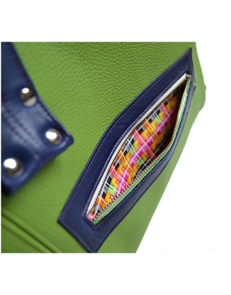 Lola Falk Lola Falk Grayson Travel Bag: Lime