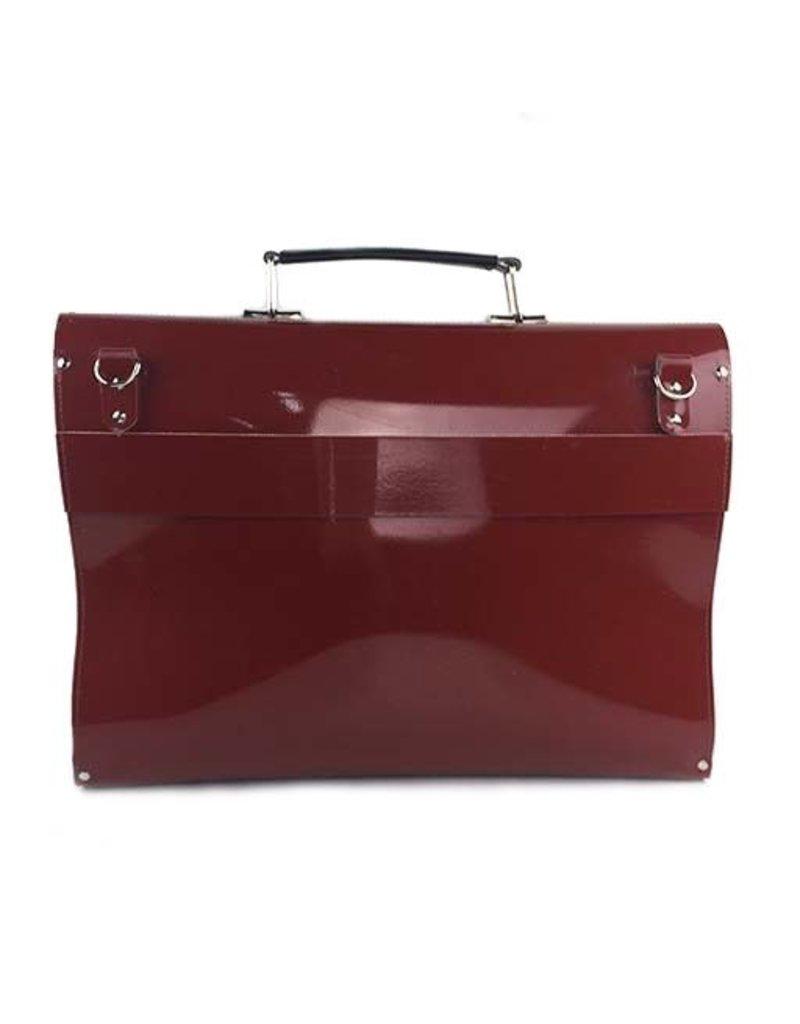 Kazmok Kazmok Principal Briefcase: Brick & Black