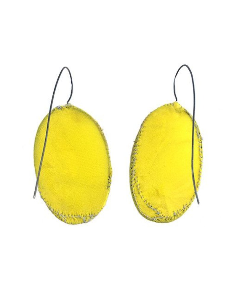 Myung Urso Myung Urso Dangles: Large Yellow Ovals