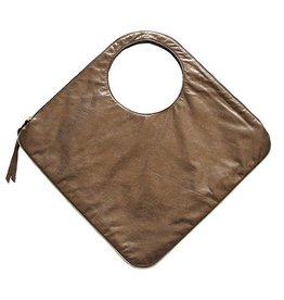 Arza Arza Diamond Bag: Bronze