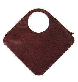 Arza Arza Diamond Bag: Burgundy