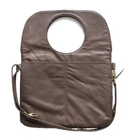 Arza Arza Laptop Bag: Taupe