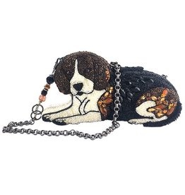Mary Frances Mary Frances Handbag: Puppy Love