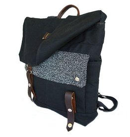 Wooly Bison Wooly Bison Backpack: Black Galaxy