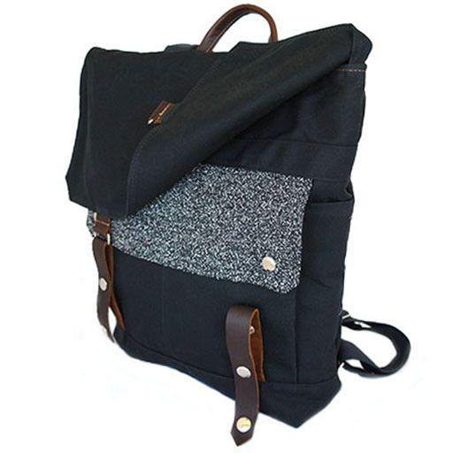 Wooly Bison Wooly Bison Backpack: Black Galaxy