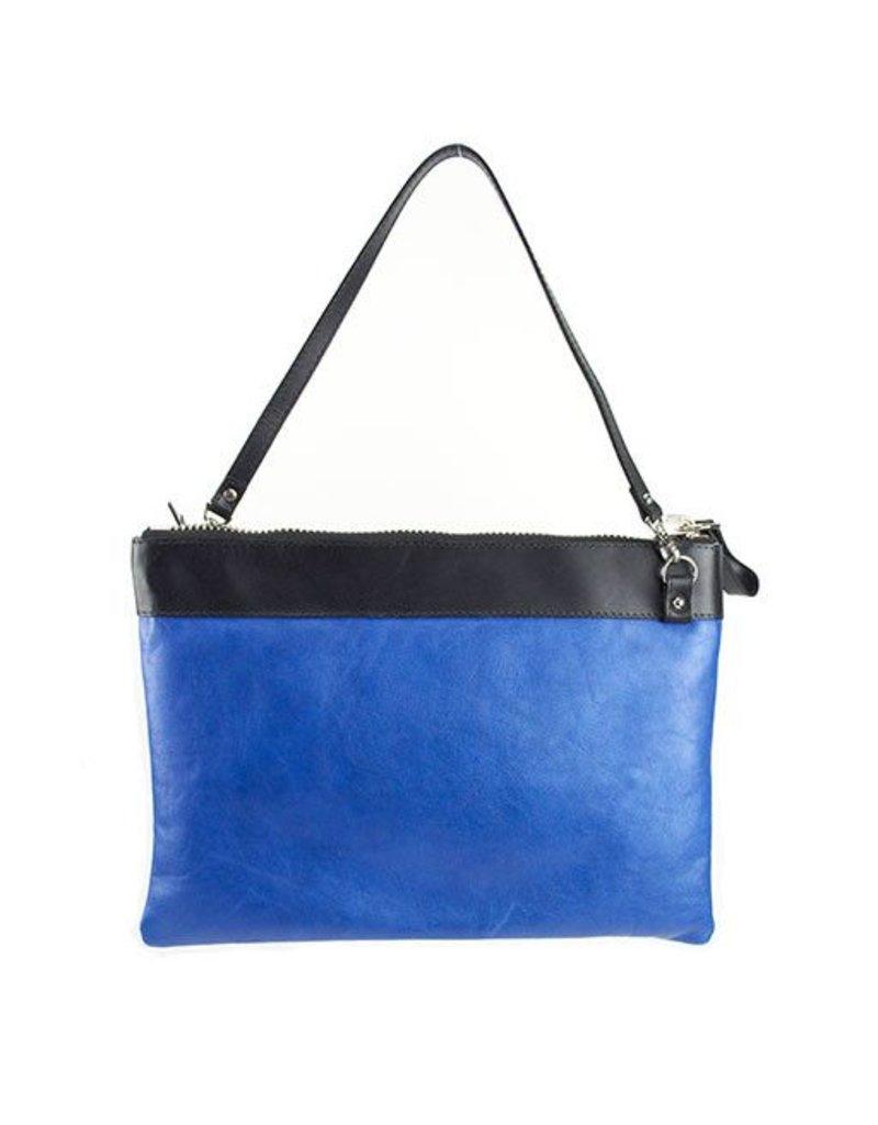 Anya Sushko Anya Sushko Hiss Mini Clutch: Blue