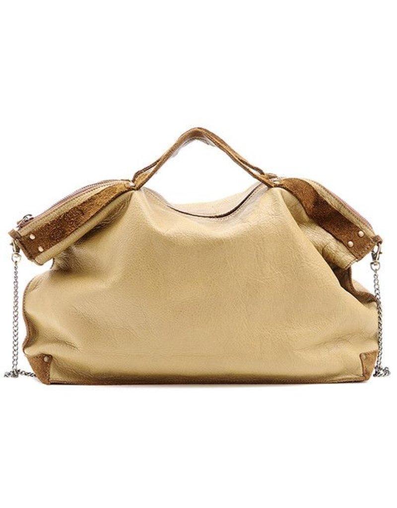 Jo Jo Drew Shoulder Bag: Oat