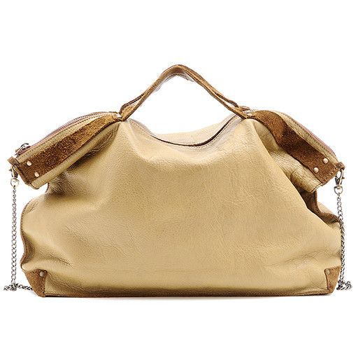 Jo Jo Drew Shoulder Bag: Oat