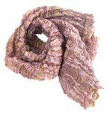 Nellie Rose Textiles Nellie Rose Silk Scarf: Chrysalis, Blush