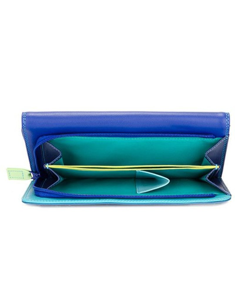 Mywalit Mywalit Trifold Zip Wallet: Seascape