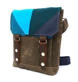 Wooly Bison Wooly Bison Satchel: Blue Prism