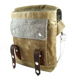 Wooly Bison Wooly Bison Satchel: Gray Goose Tweed