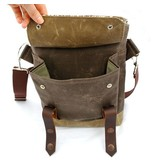 Wooly Bison Wooly Bison Satchel: White Forest
