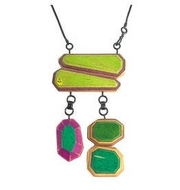Tara Locklear TL Pop Roxx Necklace: 2 Over 3