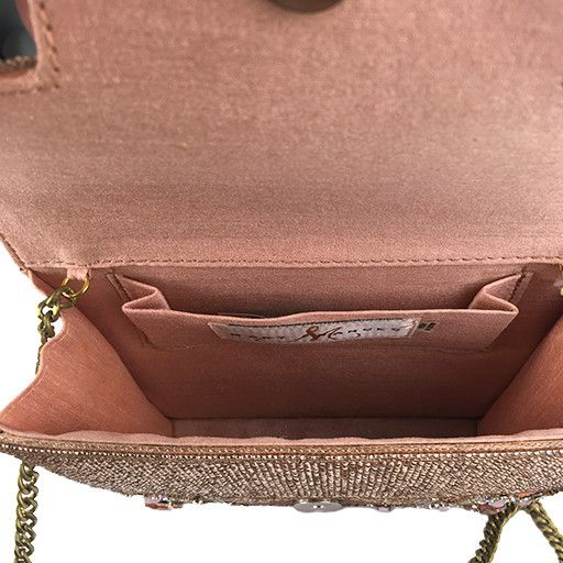 Mary Frances Mary Frances Handbag: Peach Parfait