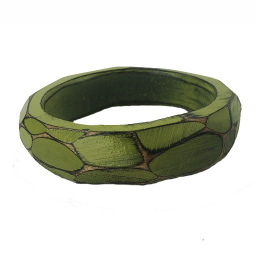 Morgan Hill Morgan Hill Bangle: Lime