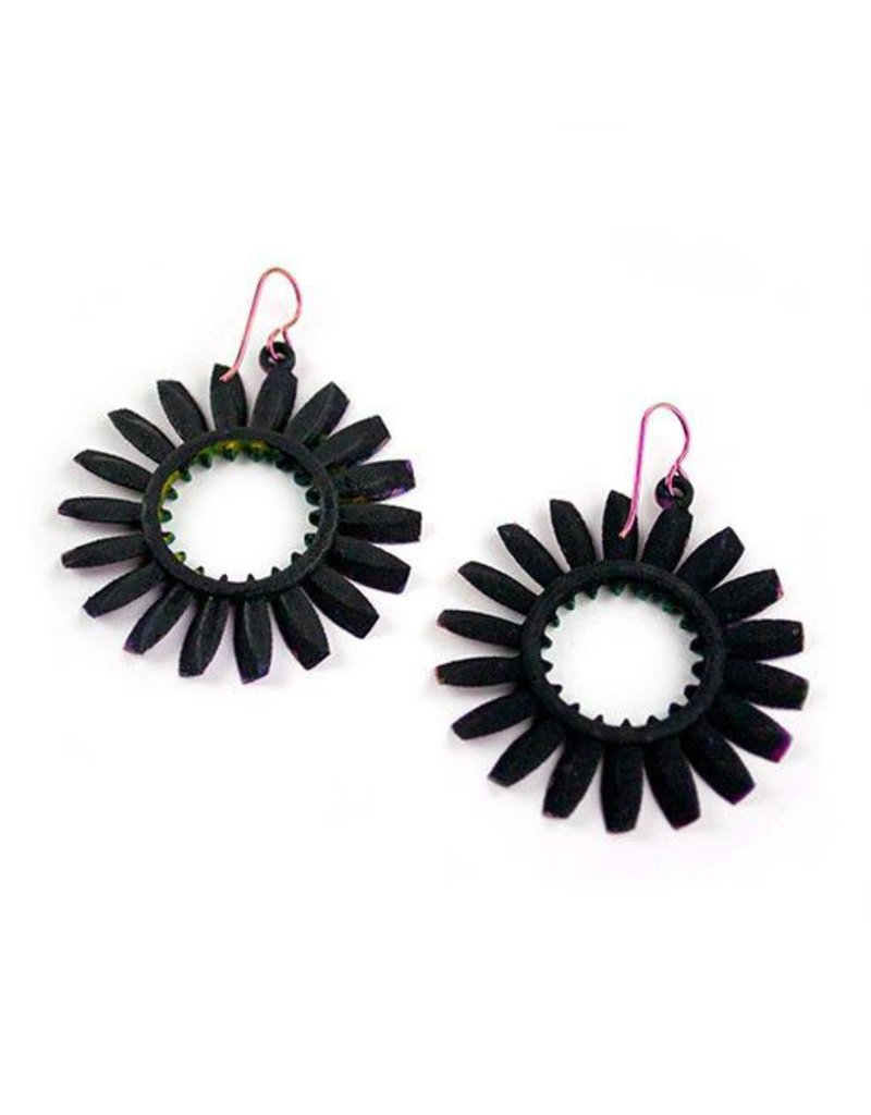 Susan Sanders Susan Sanders 3D Print Earrings #65: Painted