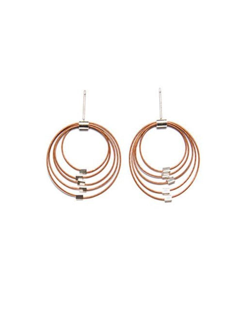Meghan Patrice Riley Meghan Patrice Riley Posts: Graduated Circles, Copper & Silver