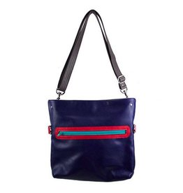 Lola Falk Lola Falk Abby Satchel: Royal Blue