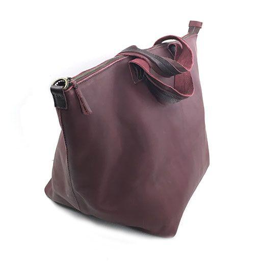 Jo Jo Bucket Bag: Burgundy