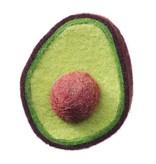 Danielle Gori-Montanelli Danielle Gori-Montanelli Brooch: Avocado