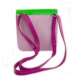 Carol Risley Carol Risley Small Crossbody: Purple & Green