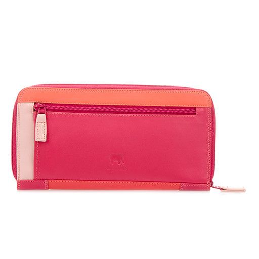 Mywalit Mywalit 8 CC Zip Around Wallet: Candy