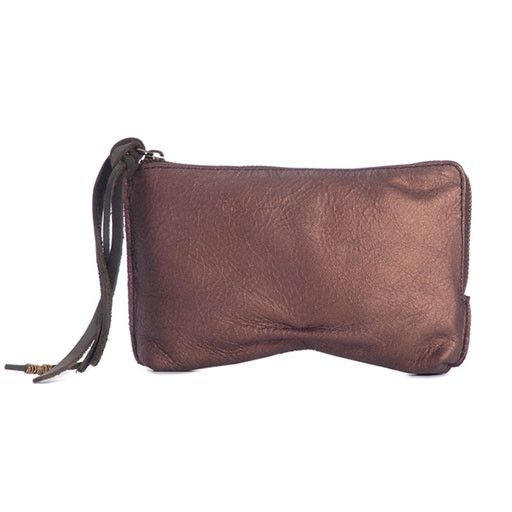 Jo Jo Stella Clutch: Dusted Bronze
