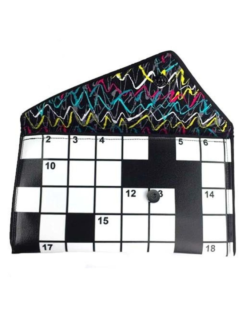 Kent Stetson Kent Stetson Clutch: Crossword